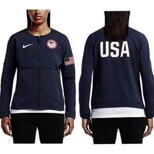 Nike Team USA 2016 Olympics Tech Fleece Sweater